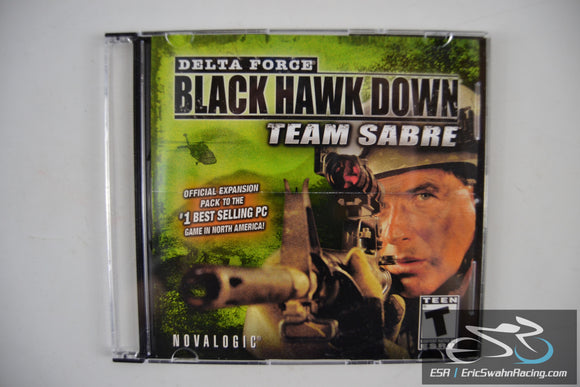 Delta Force: Black Hawk Down Team Sabre PC Computer Game 2004 Novalogic