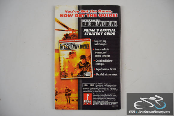 Delta Force - Black Hawk Down: U.S. Forces In Somalia Map Supplement 2003