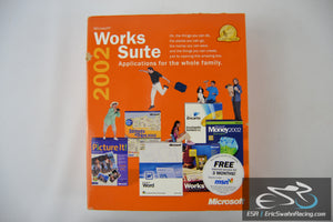 Microsoft Works Suite 2002 Applications for the Whole Family Booklet w/ 5 Discs