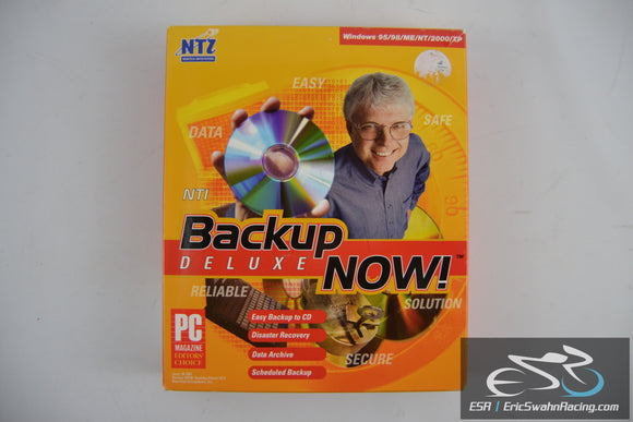 Backup Now! Deluxe Newtex, Inc Windows PC 2001 User Guide and Disc V 2.5.12