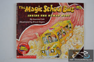 The Magic School Bus - Inside The Human Body Scholastic Paperback Book 1989