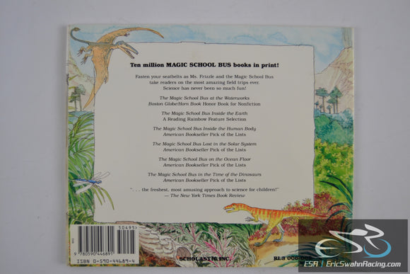 The Magic School Bus - In The Time Of The Dinosaurs Paperbook Book 1994