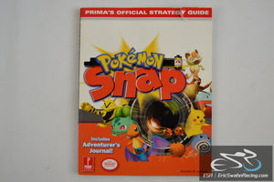 Pokemon Snap: Prima's Official Strategy Guide Paperback Book 1999