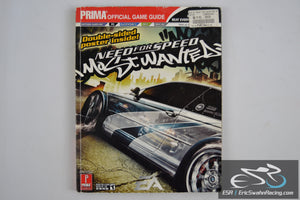 Need for Speed: Most Wanted (Prima Official Game Guide) Paperback 2005