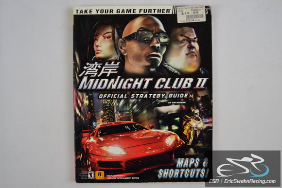 Midnight Club II Official Strategy Guide Brady Games 2003 Rockstar Games