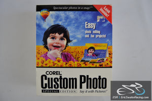 Corel Custom Photo Special Edition 1999 Computer Software