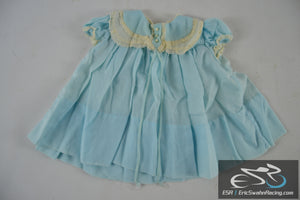 Blue Dress - Toddler / Baby / Doll Clothing