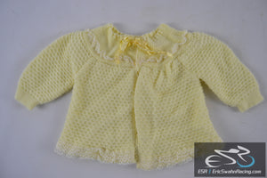Yellow Italian Made Sweater - Toddler / Baby / Doll Clothing