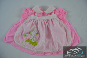 Pink Strawberry Dress - Toddler / Baby / Doll Clothing