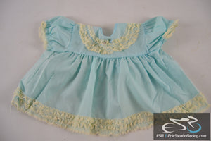 Toddle Time JC Penny 18.5-23lbs Blue White Lace Dress Toddler Baby Doll Clothing