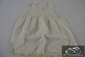Her Majesty T-3 White Toddler/Doll Dress Clothing