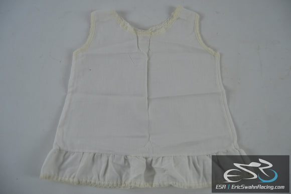 White Sears Dress Toddler Baby Doll Clothing