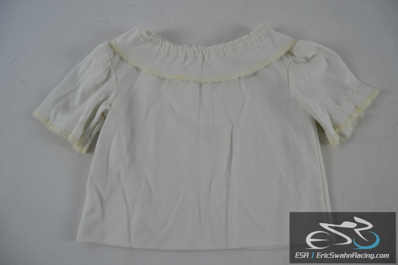 White Size 4 Shirt Toddler Baby Doll Clothing