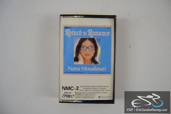 Nana Mouskouri Return To Romance Cassette Tape Beautiful Music Company 1988