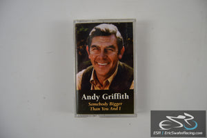 Andy Griffith Somebody Bigger Than You And I Cassette Tape Time Warner 1996