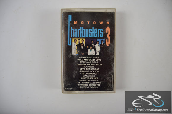 Motown Chartbusters 3 Cassette Tape Motown Record Company 1990