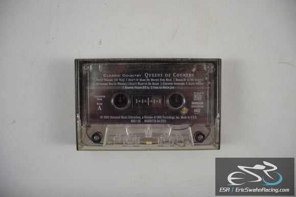 Classic Country Queens Of Country Cassette Tape Universal Music Enterprises 2003