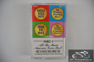 Dance Hall Days Two Cassette Tape Set HAC-1, 2 1936 To 1945 Sony Music 1995
