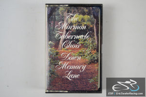 The Mormon Tabernacle Choir Cassette Tape Down Memory Lane 1990