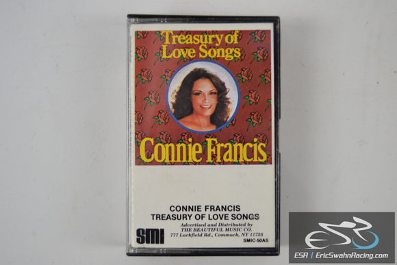 Connie Francis Cassette Tape Treasury Of Love Songs 1984