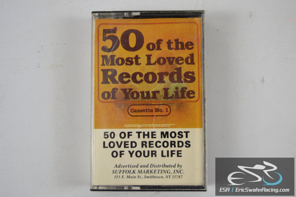 50 Of The Most Loved Records Of Your Life Cassette Tape 1984 *Note*