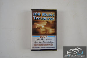 100 Music Treasures Four Cassette Tape Set The Beautiful Music Company 1998