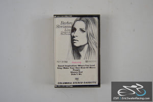 Barbra Streisand Live Concert At The Forum Cassette Tape Columbia Records 1972