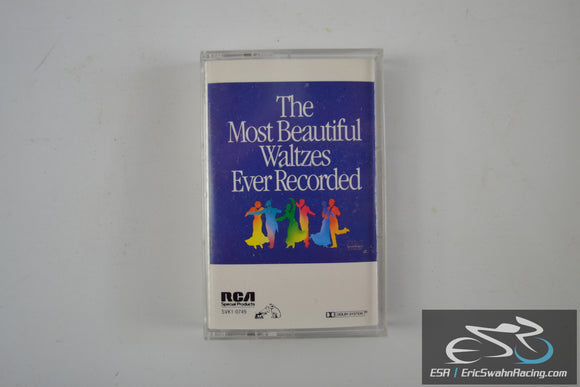 The Most Beautiful Waltzes Ever Recorded Cassette Tape RCA Records 1986