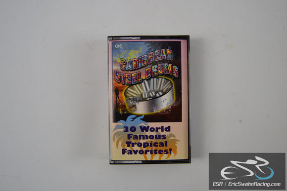 Caribbean Steel Drums Cassette Tape 30 World Famous Tropical Favorites 2001