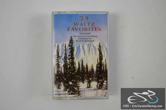 25 Waltz Favorites Two Cassette Tape Set J.C. Entertainment Co 1997