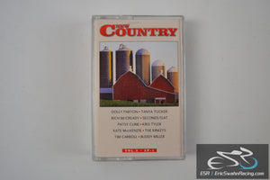 New Country Vol.5 SP-1 Cassette Tape Connell Communications 1998
