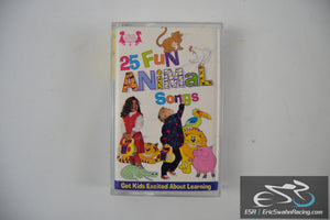 25 Fun Animal Songs Cassette Tape Twin Sisters Productions 1997