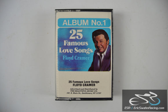 25 Famous Love Songs Cassette Tape Floyd Cramer Beautiful Music 1986