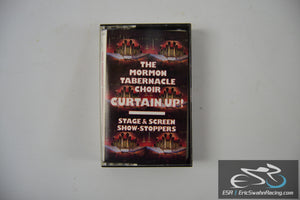 The Mormon Tabernacle Choir Curtain Up! Cassette Tape CBS Records 1990