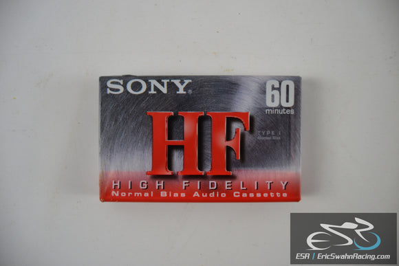 Sony HF High Fidelity 60 Minutes Normal Bias Audio Tape Cassette