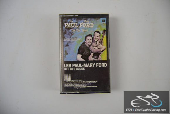 Les Paul - Mary Ford Bye Bye Blues Cassette Tape Capitol Records 1982