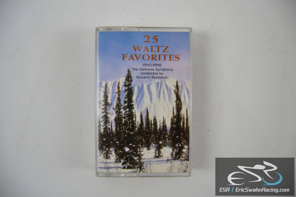 25 Waltz Favorites Cassette Tape J.C. Entertainment Co 1997