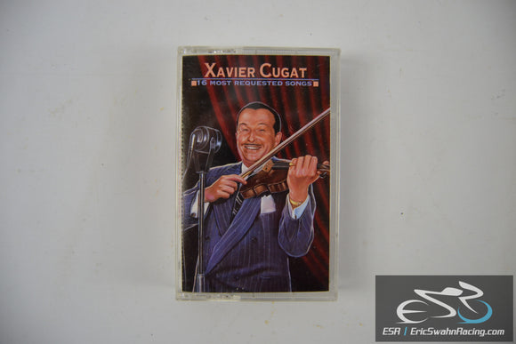 Xavier Cugat 16 Most Requested Songs Cassette Tape Sony Music Entertainment 1995