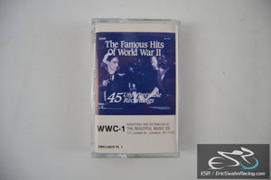 The Famous Hits Of World War II Three Cassette Tape Set Beautiful Music Co 1989