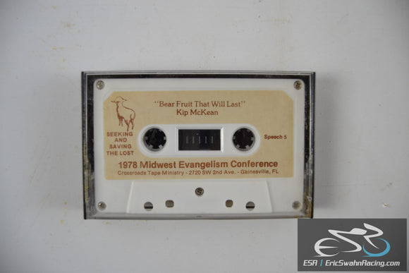 1978 Midwest Evangelism Conference Cassette Tape Crossroads Tape Ministry