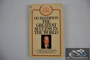 The Greatest Success In The World Paperback Book 1983 Og Mandino