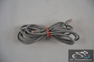 Grey Ethernet Cable 6.5 ft long