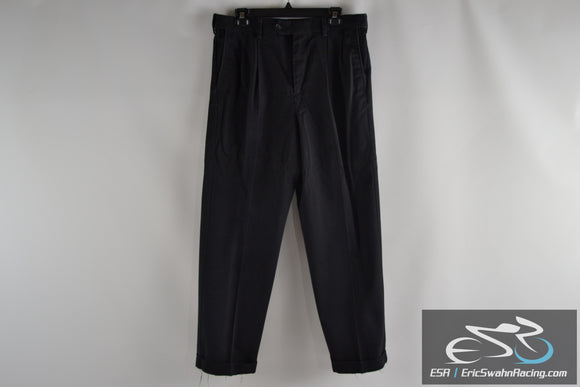 Croft & Barrow Black Dress Pants 32x30