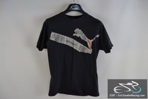 Puma Detroit DTW Airplane Black Men's Medium T-Shirt