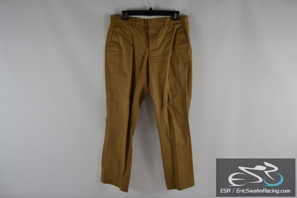 Express Photographer Khaki Men's 30/30 Dress Pants