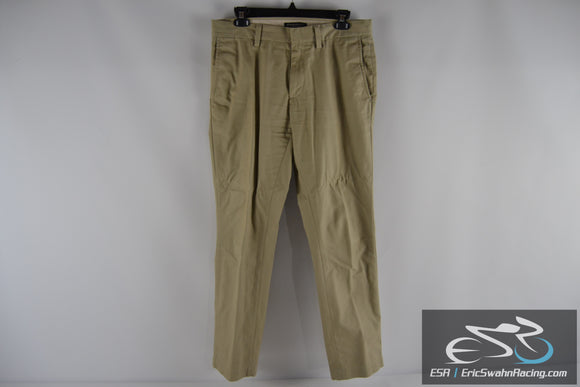Banana Republic Emerson Chino Khaki Men's 30/30 Dress Pants