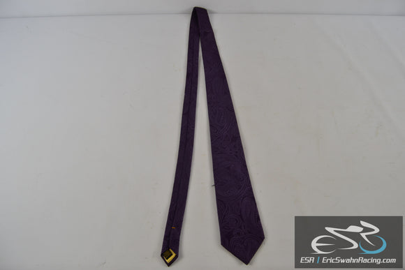 Donald J. Trump Signature Collection Purple / Gold Men's Neck Tie