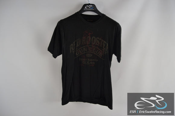 Red Rooster Gun Club Sonoma Life + Style Black / Red Men's Medium T-Shirt