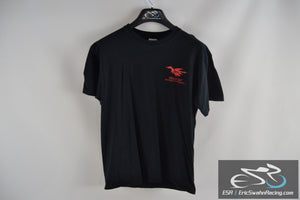 Deal's Gap Motorcycle Resort 2012 Gildan Black / Red Men's Medium T-Shirt