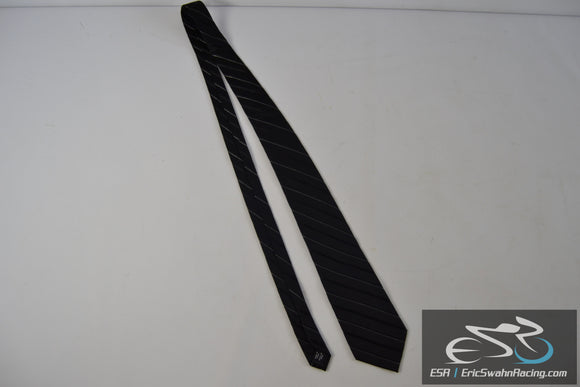 Croft & Barrow Black / White Men's Neck Tie